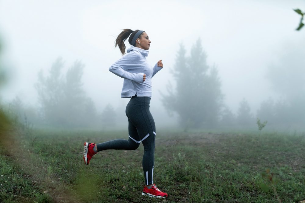tips for running outside during winter